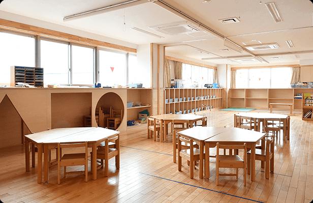 新園3F / 3〜5歳児保育室