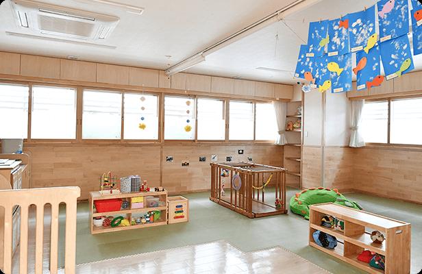 新園1F / 0歳児保育室