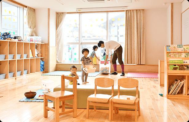 新園2F / 3〜5歳児保育室